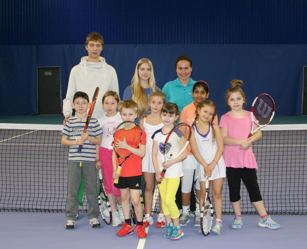 Участники турнира среди 7-8 летних