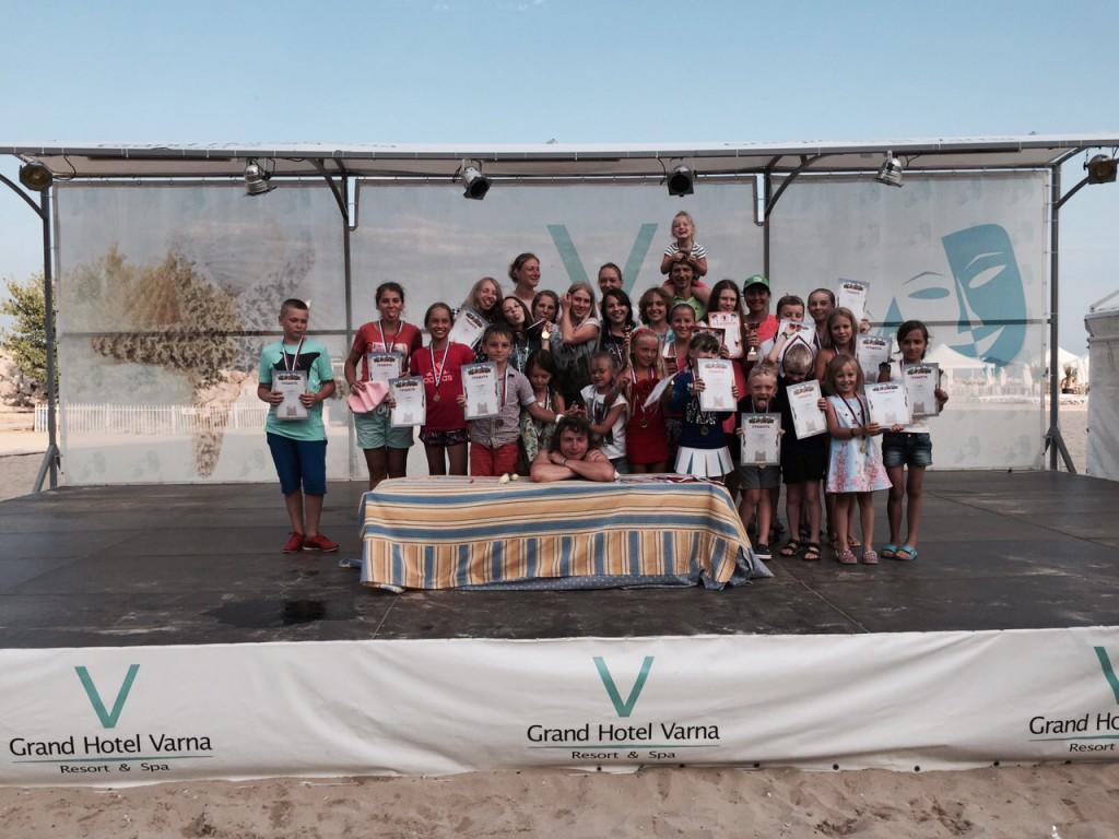 Награждение участников и победителей турнира Кубок Болгарии