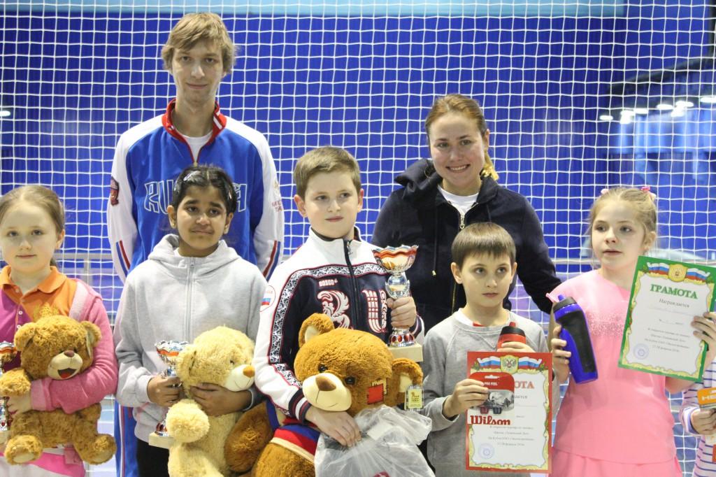 Победитель и призеры турнира 9-10 лет