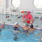 Плавание с тренером